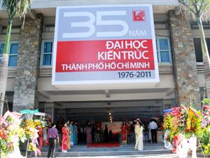 Phương án tuyển sinh đại học kiến trúc TP Hồ Chí Minh năm 2015