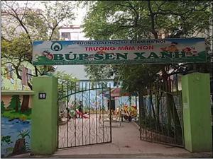 Thông báo Tuyển sinh trường mầm non Búp Sen Xanh