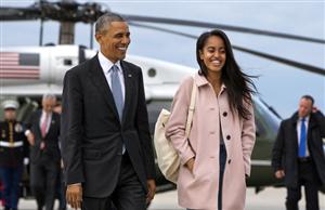 Vất vả như con gái Tổng thống Mỹ chọn trường Đại học