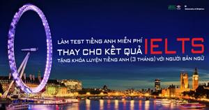 ĐH Brighton tổ chức thi tiếng Anh miễn phí thay kết quả IELTS tại ISC-UKEAS