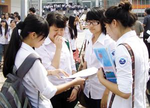Có thể bổ sung số CMND sau khi nộp hồ sơ dự thi THPT Quốc gia 2015
