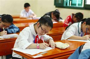 Điểm thi học kỳ không dùng để xếp loại học sinh tiểu học
