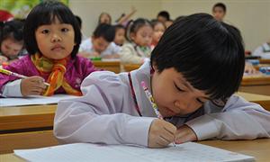 Bộ Giáo dục giải tỏa nỗi niềm kiểm tra tiểu học chấm điểm
