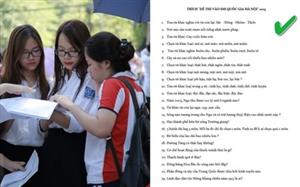 """ĐH Quốc gia Hà Nội khẳng định: Không ra đề thi """"Thạch Sanh quê ở đâu?"""""""
