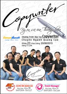 Khoá học Copywriter – Ngôn sứ thương hiệu