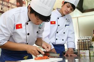 Khoá học: Nghiệp vụ Bếp Âu - Á