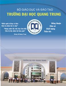 ĐH Quang Trung công bố phương án tuyển sinh