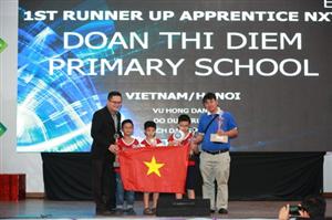 Việt Nam giành 7 giải trong cuộc thi Robotics Quốc tế