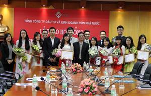 """SCIC trao học bổng """"Nâng bước tài năng trẻ"""" năm 2014"""