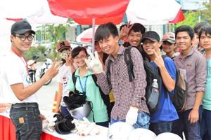 Sinh viên TP.HCM hào hứng với hoạt động ngoại khóa từ Honda Việt Nam