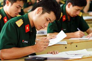 Thông tin tuyển sinh ĐH,CĐ 2015 các trường quân đội
