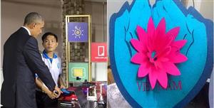 Món quà của chàng sinh viên Việt khiến TT Obama thích thú